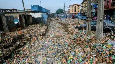 Photo of Lagos flooded with waste after heavy rainfall [Photos]