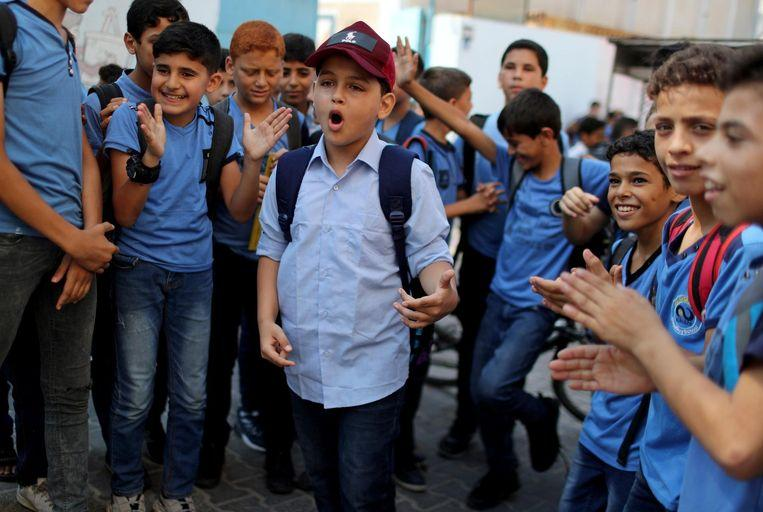 Boy (11) from Gaza raps about the war between Israel and Palestine
