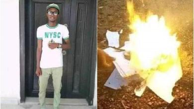 Photo of Not only in Nigeria but also in Africa, frustrated graduate burns certificates