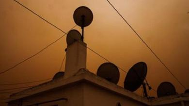 Photo of End time or weather? In Morocco, Sky turns to orange color