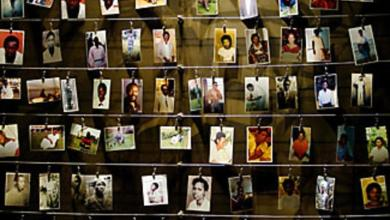 Photo of Rwanda genocide: Bodies of remains of the prime suspect