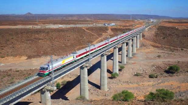 Train Addis-Abeba -Ethiopie) -- Djibouti
