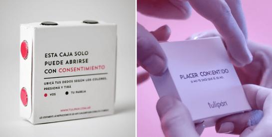 Argentine: un «préservatif à consentement» qui s'ouvre uniquement à quatre mains