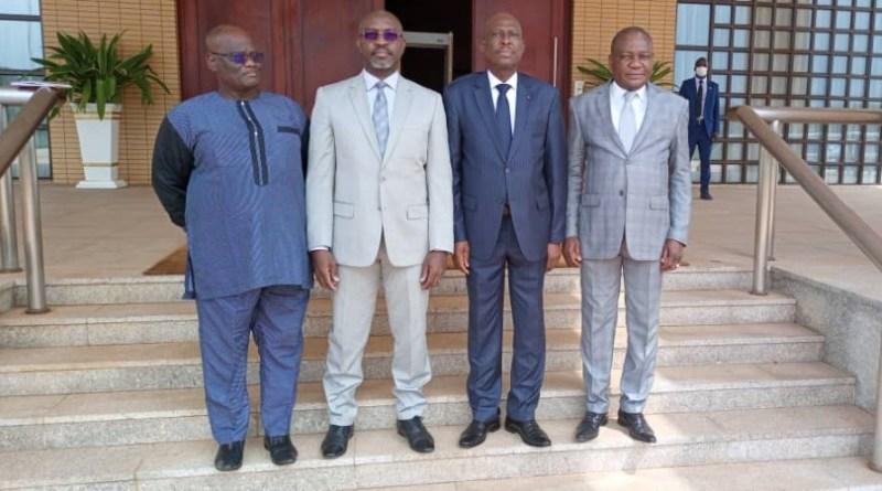 Séance de travail du Directeur Général d'AFRISTAT à la Présidence de la République du Togo