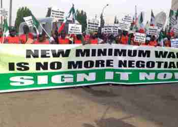 NLC Nationwide protest