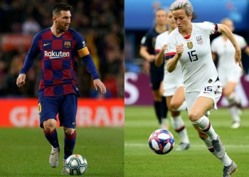 Lionel Messi and Megan Rapinoe are expected to win the big prizes at Monday's Ballon d'Or ceremony