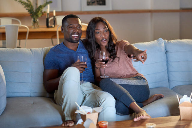 Image result for african lovers watching movie