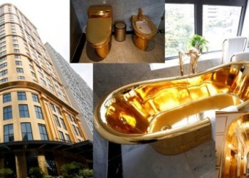 gold plated hotel