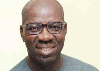 File Photo of Governor Godwin Obaseki