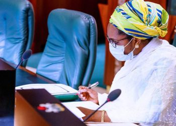 Minister of Finance, Budget and National Planning, Mrs Zainab Ahmed.