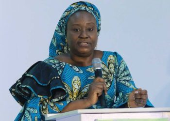 Acting Head of Federal Civil Service, Mrs Folashade Yemi Esan, at the State House, Abuja.