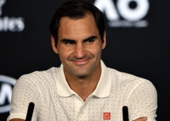 Switzerland's Roger Federer. (Photo by Manan VATSYAYANA / various sources / AFP)