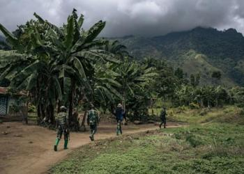 Despite the deployment of Congolese troops around Beni, the ADF has been able to mount its deadly attacks (AFP/ALEXIS HUGUET)