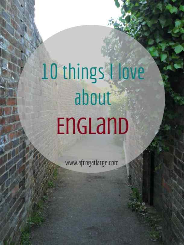 10 things about England