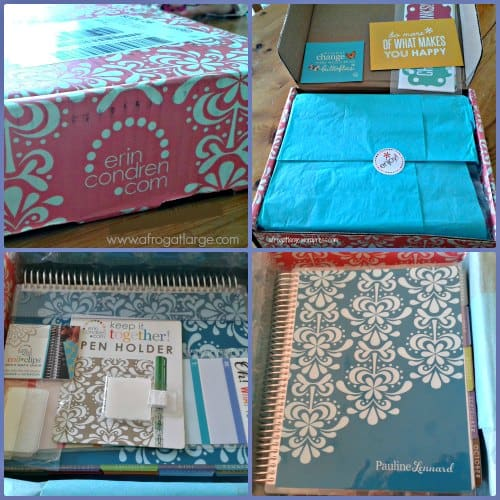 erin condren planner box