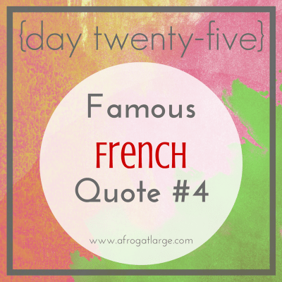 Famous French Quote Blaise Pascal