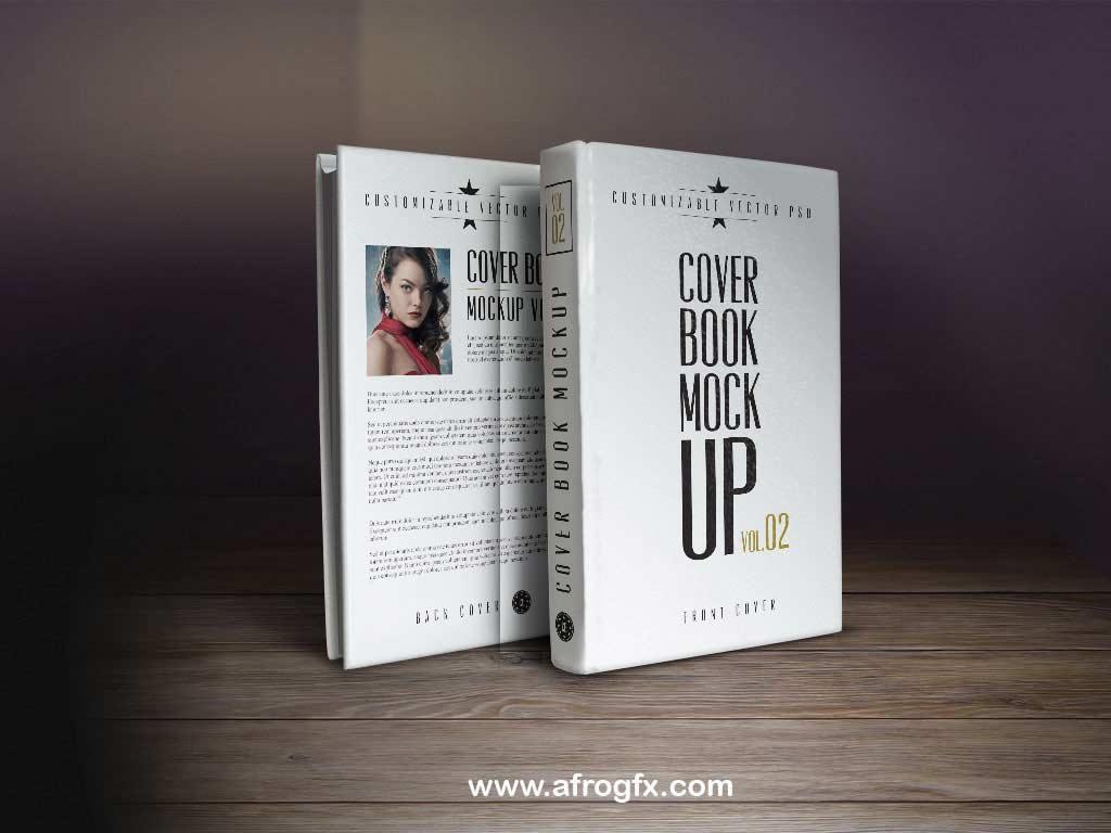 Cover Book Mock Up Vol 2