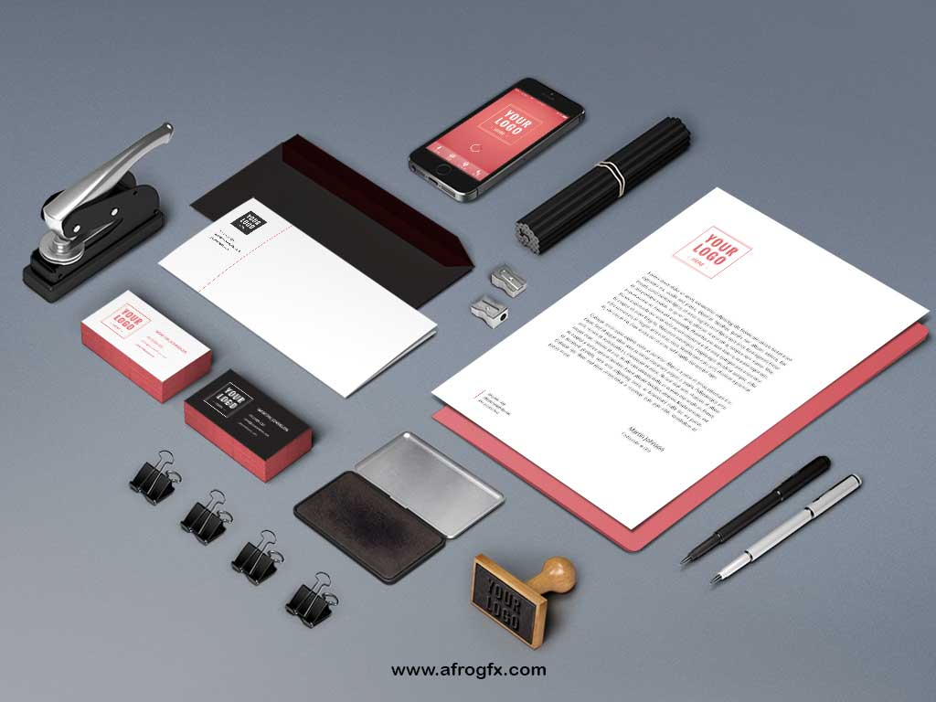 Branding Identity Mock-Up Vol6