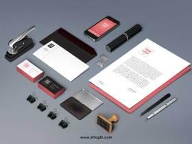Branding Identity Mock-Up Vol6