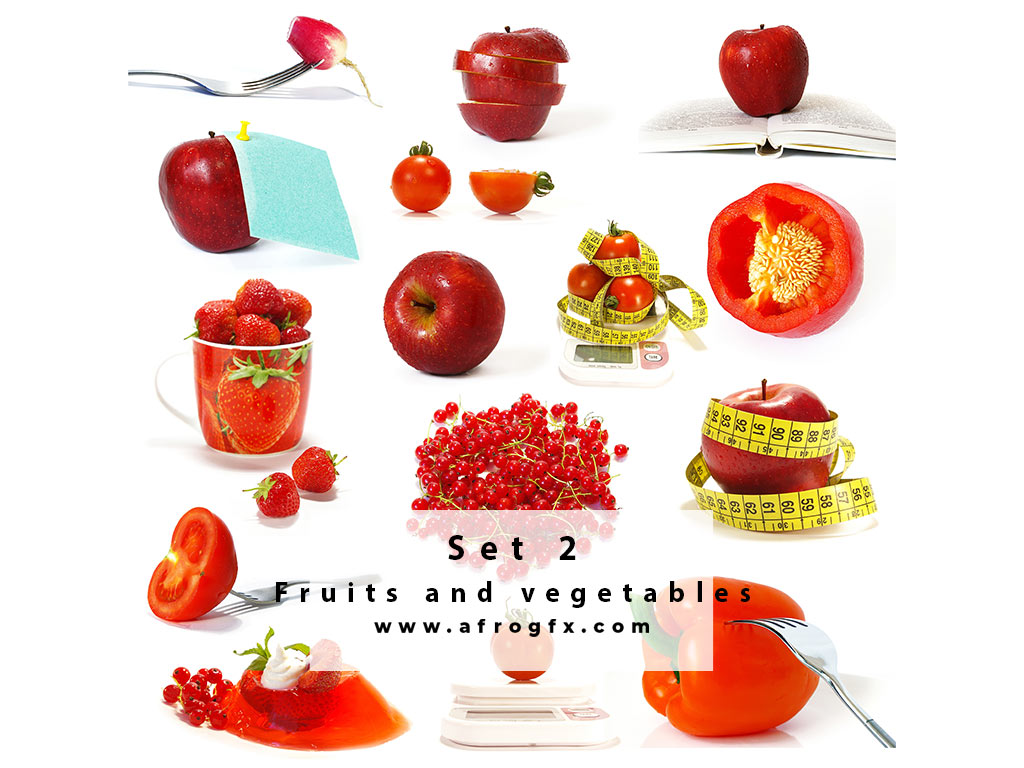 Fruits and vegetables 2 Stock Photo
