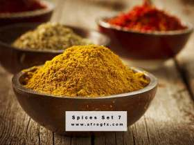 Stock Photo - Spices 7 Stock Photo