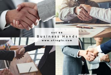 Business Hands Set 6 Stock Photo