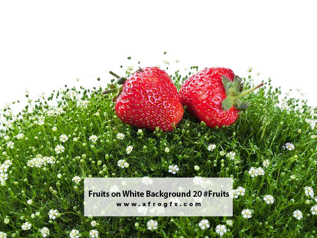 Fruits on White Background 20 #Fruits