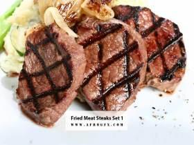 Fried Meat Steaks 1