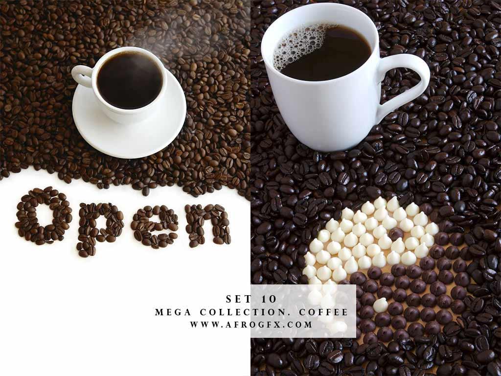 Mega Collection. Coffee #10 - Stock Photo