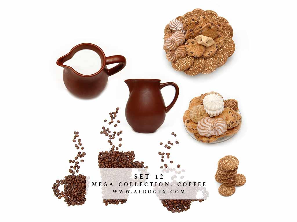 Mega Collection. Coffee #12 - Stock Photo