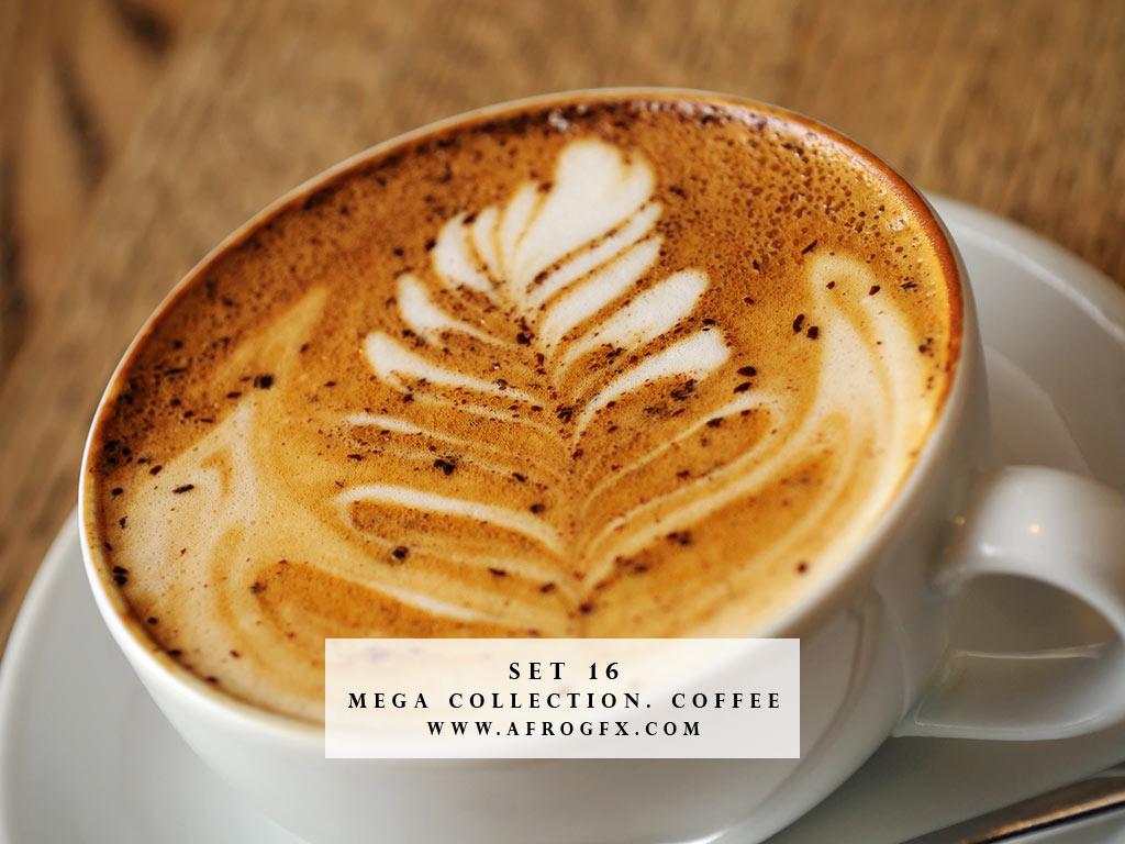 Mega Collection. Coffee #16 - Stock Photo
