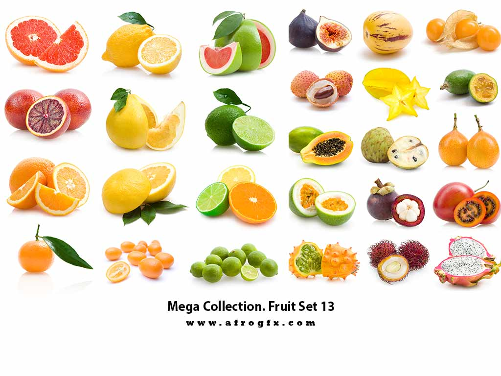 Mega Collection. Fruit #13