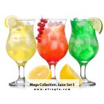 Mega Collection Juice #5 Stock Photo