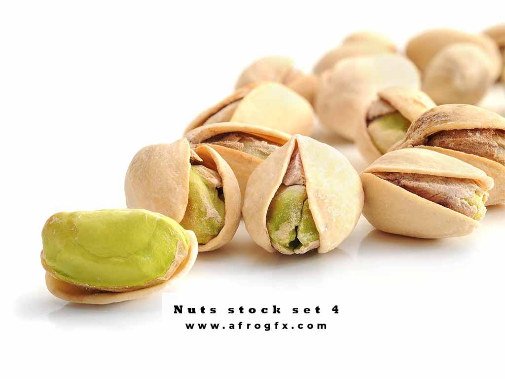 Nuts stock set 4 Stock Photo