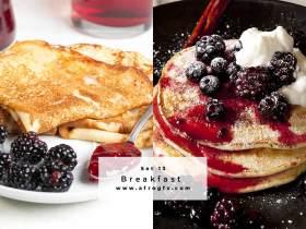 Breakfast Set 13 Stock Photo