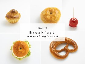 Breakfast Set 2 Stock Photo