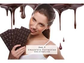 Chocolate Collection Set 1 Stock Photo