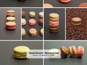Sweet dessert - Macarons - Collection Set 1