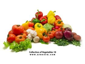 Collection of Vegetables 17
