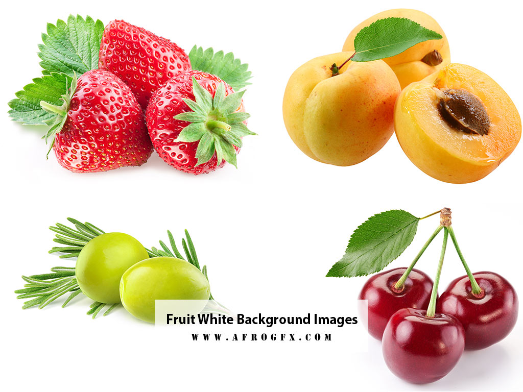 Fruit White Background Images, Stock Photos 1