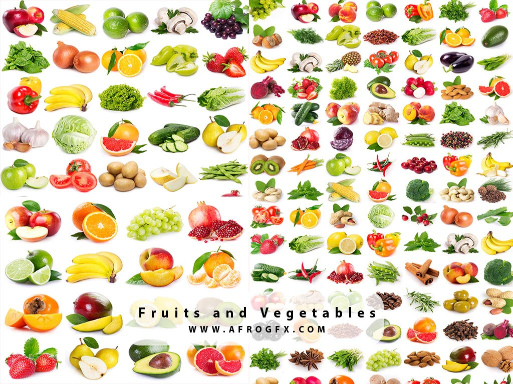 Fruits and Vegetables Images, Stock Photos