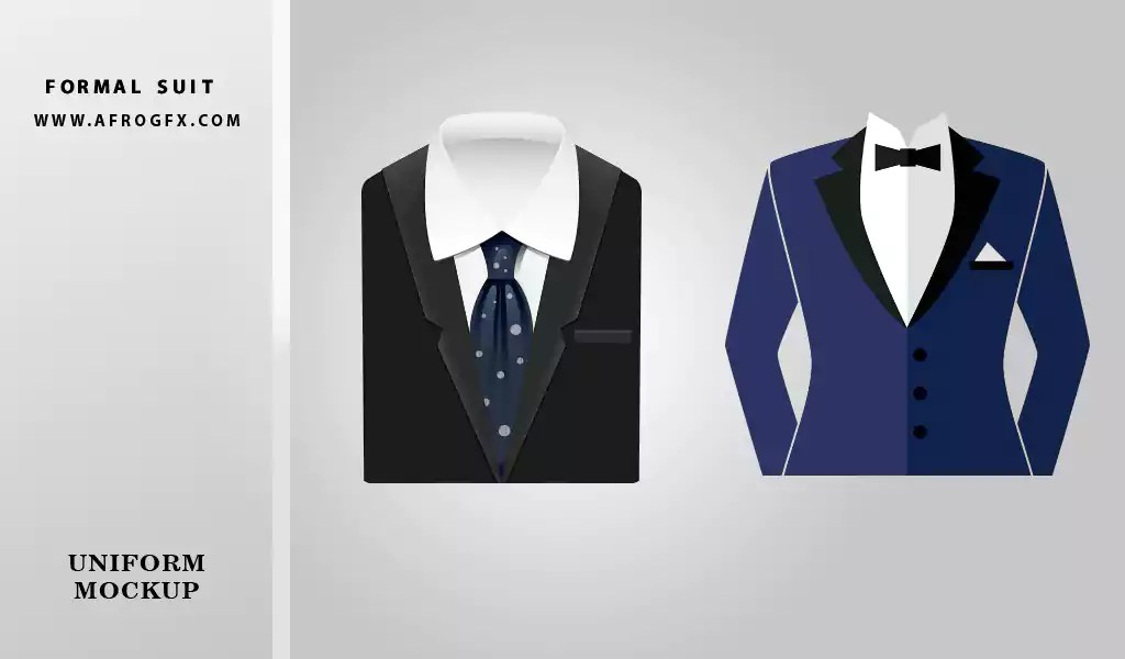 Formal Suit for man free vector download