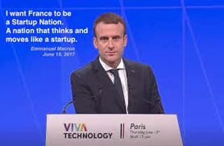 Macron envisages a unicorn country for France
