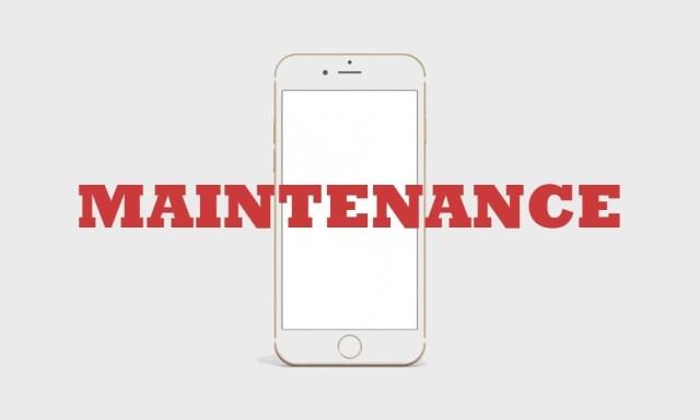 App Development - Maintenance phase