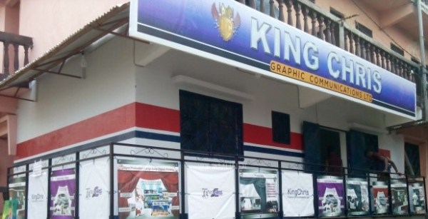 king chris graphic design house at Molyko, Buea