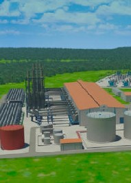 Proyecto de la central eléctrica alimentada por gas natural en Kribi, Camerún