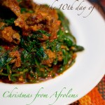 On the 10th day of Christmas….Efo-Riro