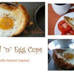Bread 'n' Egg Cups -Martha stewart Inspired Breakfast