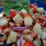 Cucumber and Black-Eyed Pea Salad