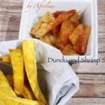 Dundu and Shrimp Sauce